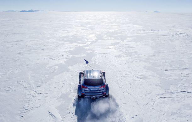 Un Hyundai Santa Fe și strănepotul exploratorului Ernest Shackelton au reușit să traverseze Antarctica - Poza 13