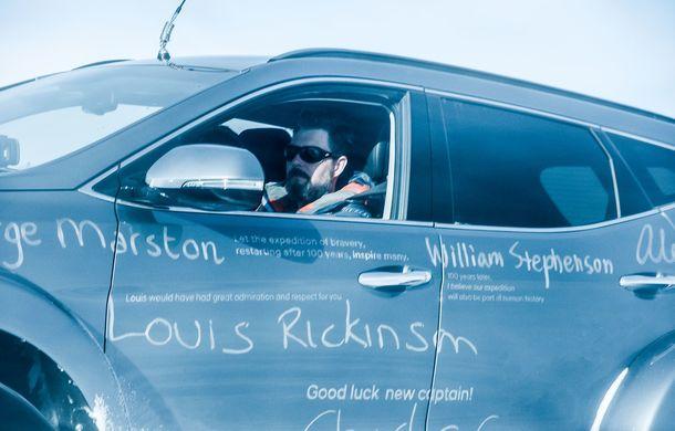 Un Hyundai Santa Fe și strănepotul exploratorului Ernest Shackelton au reușit să traverseze Antarctica - Poza 11