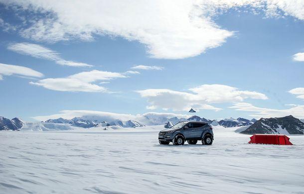 Un Hyundai Santa Fe și strănepotul exploratorului Ernest Shackelton au reușit să traverseze Antarctica - Poza 4