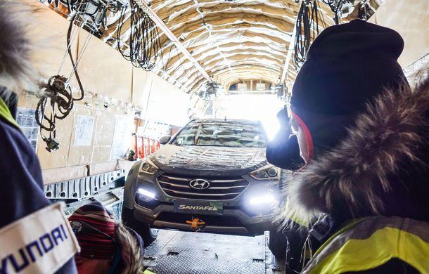 Un Hyundai Santa Fe și strănepotul exploratorului Ernest Shackelton au reușit să traverseze Antarctica - Poza 14