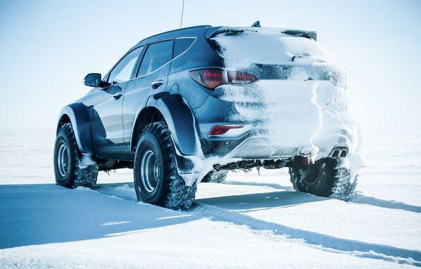 Un Hyundai Santa Fe și strănepotul exploratorului Ernest Shackelton au reușit să traverseze Antarctica - Poza 9