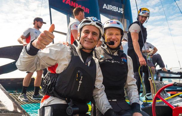 """VIDEO: Alex Zanardi, antrenament inedit pe un iaht de curse: """"A fost o experiență fantastică"""" - Poza 4"""