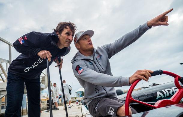"""VIDEO: Alex Zanardi, antrenament inedit pe un iaht de curse: """"A fost o experiență fantastică"""" - Poza 5"""