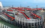 Circuit plutitor pentru carturi: un vas de croazieră norvegian va avea o pistă pe două etaje, creată de Ferrari