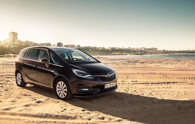 Test drive Opel Zafira facelift
