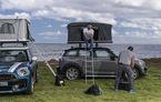 Cazare gratis în concediu: Mini Countryman le oferă un cort de plafon pasionaților de călătorii