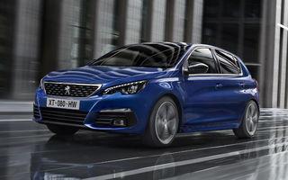 Prima imagine oficială cu Peugeot 308 facelift: modificări subtile de design și un nou motor diesel de 130 de cai putere