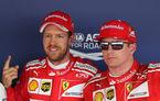 """Vettel îi ia apărarea lui Raikkonen după startul modest de sezon: """"Merită rezultate mai bune"""""""