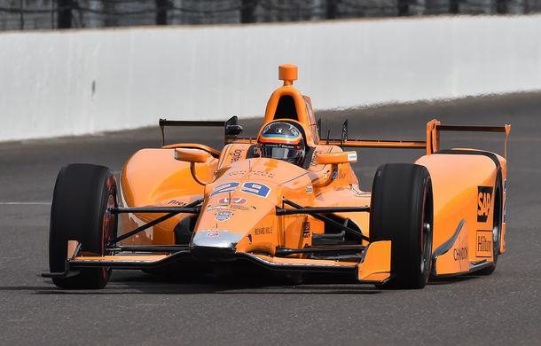 """Alonso, entuziasmat după prima zi oficială de antrenamente în IndyCar: """"A fost o zi incredibilă"""" - Poza 1"""