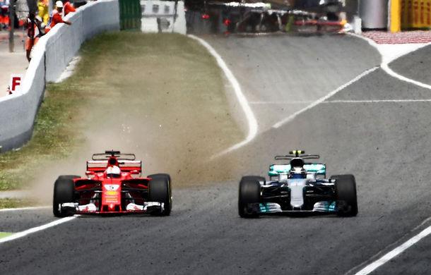 Bottas admite că l-a ajutat pe Hamilton să câștige cursa din Spania prin blocarea lui Vettel - Poza 1