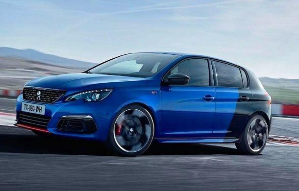 Prima imagine cu Peugeot 308 GTI facelift a ajuns pe internet: motorul de 1.6 litri ar putea oferi 290 CP - Poza 1