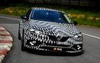 Prima imagine oficială cu noua generație Renault Megane RS: sportiva va fi dezvăluită în 26 mai