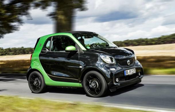 Smart începe ofensiva electrică și în România: Fortwo Electric Drive poate fi comandat începând cu 22.100 de euro - Poza 1