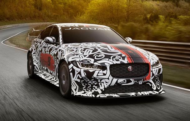 Jaguar XE SV Project 8 va fi cel mai puternic model al mărcii: va avea 600 de cai putere și va fi disponibil în numai 300 de unități - Poza 1