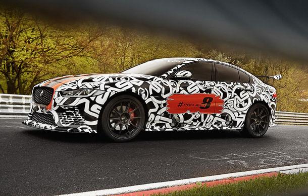 Jaguar XE SV Project 8 va fi cel mai puternic model al mărcii: va avea 600 de cai putere și va fi disponibil în numai 300 de unități - Poza 5