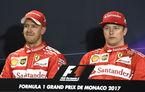 """Raikkonen sugerează că Ferrari a impus ordine de echipă la Monaco: """"Avem anumite roluri și știm asta cu toții"""""""