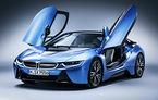BMW i8 facelift ajunge în apele dominate de M3: hibridul va oferi 420 de cai putere și mai multă autonomie în modul electric