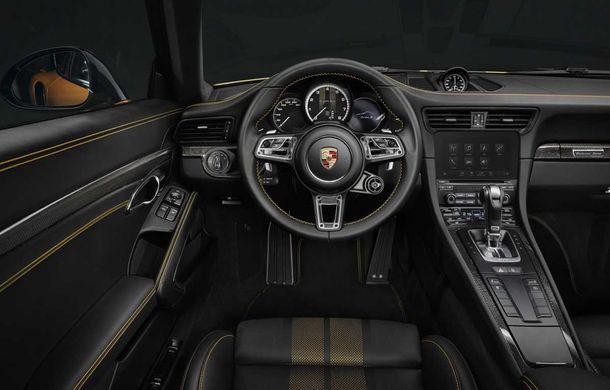 Porsche 911 Turbo S Exclusive Series: 500 de unități, 27 CP în plus și accesorii speciale pentru șoferi - Poza 10
