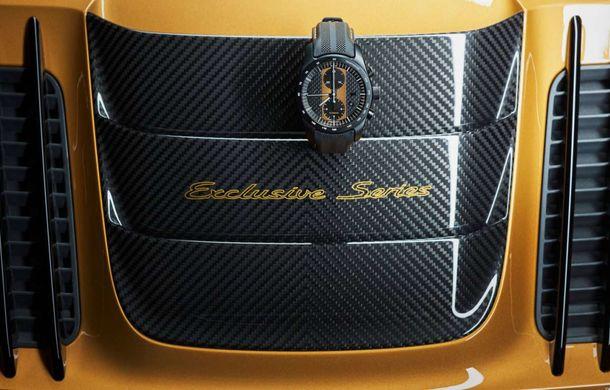 Porsche 911 Turbo S Exclusive Series: 500 de unități, 27 CP în plus și accesorii speciale pentru șoferi - Poza 11