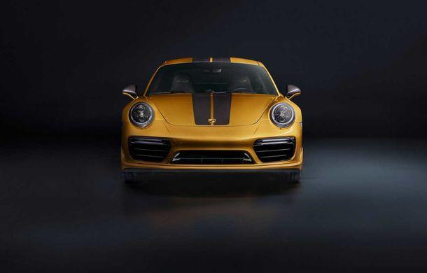 Porsche 911 Turbo S Exclusive Series: 500 de unități, 27 CP în plus și accesorii speciale pentru șoferi - Poza 5