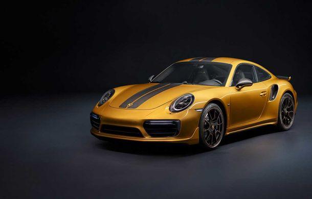 Porsche 911 Turbo S Exclusive Series: 500 de unități, 27 CP în plus și accesorii speciale pentru șoferi - Poza 1