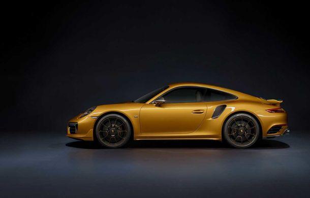 Porsche 911 Turbo S Exclusive Series: 500 de unități, 27 CP în plus și accesorii speciale pentru șoferi - Poza 2