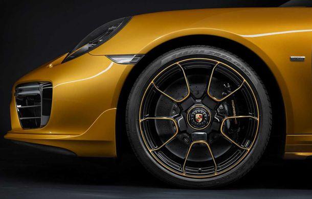 Porsche 911 Turbo S Exclusive Series: 500 de unități, 27 CP în plus și accesorii speciale pentru șoferi - Poza 6