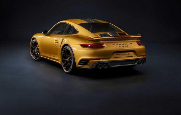 Porsche 911 Turbo S Exclusive Series: 500 de unități, 27 CP în plus și accesorii speciale pentru șoferi - Poza 3