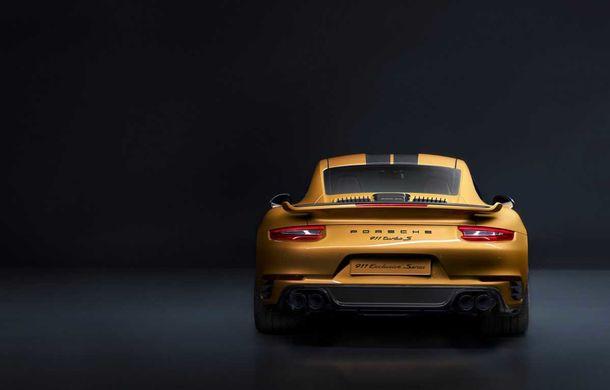 Porsche 911 Turbo S Exclusive Series: 500 de unități, 27 CP în plus și accesorii speciale pentru șoferi - Poza 4