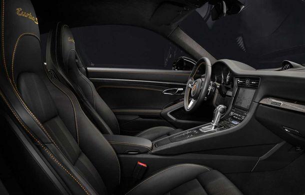 Porsche 911 Turbo S Exclusive Series: 500 de unități, 27 CP în plus și accesorii speciale pentru șoferi - Poza 9