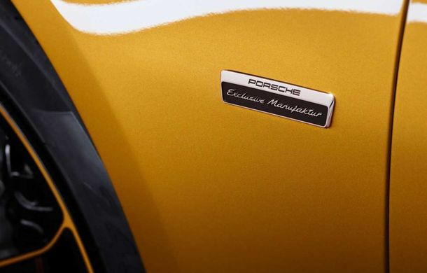 Porsche 911 Turbo S Exclusive Series: 500 de unități, 27 CP în plus și accesorii speciale pentru șoferi - Poza 7