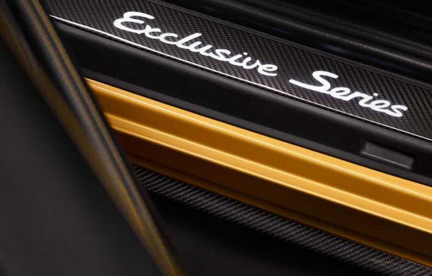 Porsche 911 Turbo S Exclusive Series: 500 de unități, 27 CP în plus și accesorii speciale pentru șoferi - Poza 8