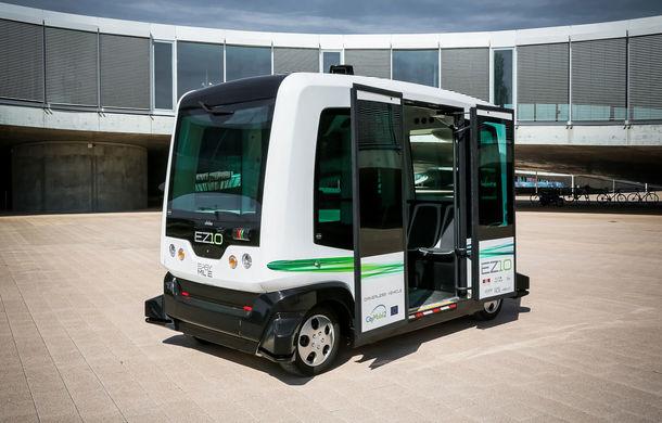 Autobuzele fără șofer devin realitate în Helsinki: prima linie pentru călători se va lansa în acestă toamnă - Poza 1