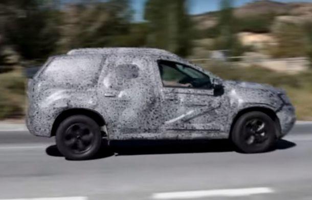 VIDEO: Noua generație Dacia Duster debutează în această săptămână: primul clip spion cu SUV-ul de la Mioveni - Poza 1