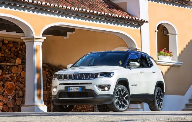 Test drive Jeep Compass