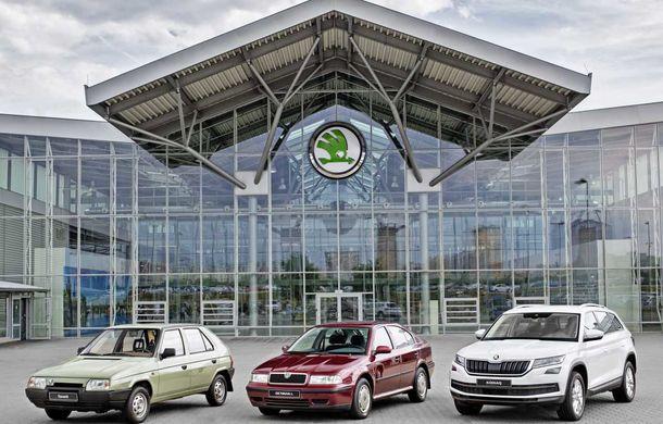 Curge șampania în Mlada Boleslav: 15 milioane de mașini produse de Skoda în era Grupului Volkswagen - Poza 1