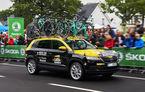 Prima apariție publică a noului Skoda Karoq: SUV-ul compact a luat startul în Turul Franței