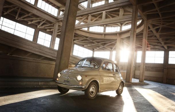 Aniversare la muzeu: Fiat 500 împlinește 60 de ani și ajunge exponat în New York - Poza 1