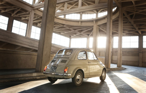 Aniversare la muzeu: Fiat 500 împlinește 60 de ani și ajunge exponat în New York - Poza 8