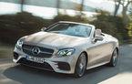 Prețuri Mercedes-Benz Clasa E Cabriolet în România: decapotabila din Stuttgart pleacă de la 54.800 de euro