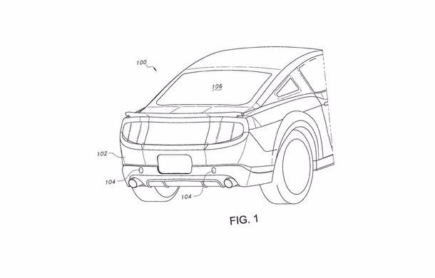 Ford Mustang ar putea deveni cel mai bun prieten al bicicliștilor: inginerii au patentat un suport retractabil pentru biciclete - Poza 2