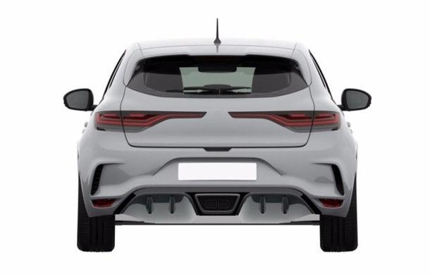 Noua generație Renault Megane RS, dezvăluită într-o serie de fotografii patent: hot hatch-ul francezilor primește câteva artificii interesante - Poza 6