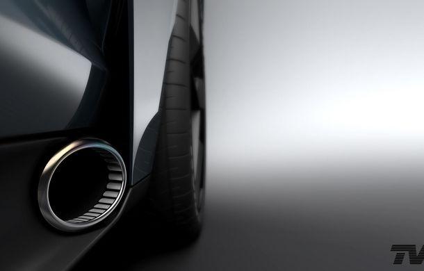 După 12 ani, englezii scot de la naftalină brandul TVR: un nou teaser anunță supercarul cu motor V8 și preț de 100.000 de euro - Poza 2