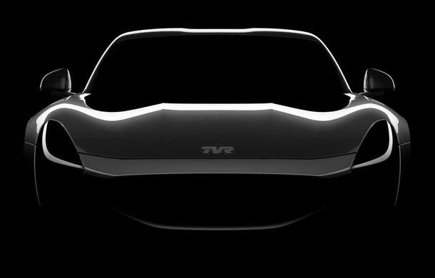 După 12 ani, englezii scot de la naftalină brandul TVR: un nou teaser anunță supercarul cu motor V8 și preț de 100.000 de euro - Poza 1