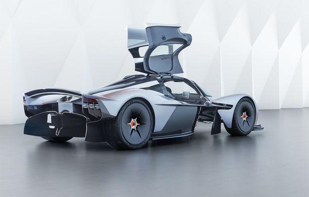 """Aston Martin: """"Vrem ca Valkyrie să se apropie de performanțele unei mașini de Formula 1"""" - Poza 10"""