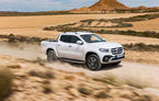 X-ul marchează locul: Mercedes-Benz a lansat noul pick-up Clasa X