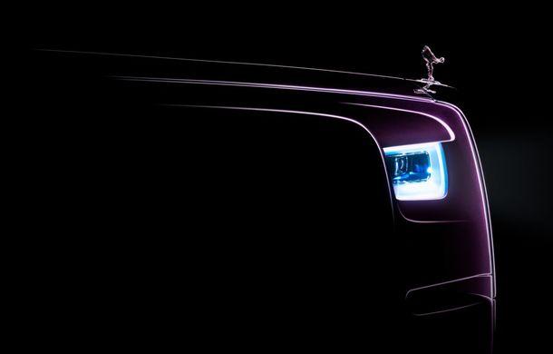 Noua generație Rolls-Royce Phantom se lansează în 27 iulie: o nouă imagine teaser - Poza 1