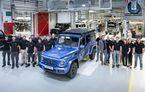 Aniversare pe pământ austriac: au fost produse 300.000 de exemplare Mercedes-Benz Clasa G la uzina din Graz
