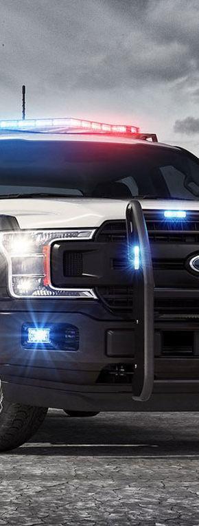 Americanii vor alerga infractorii cu primul pick-up de poliție: Ford…