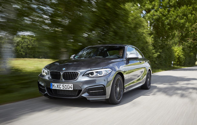 Test drive BMW Seria 2 Coupe facelift